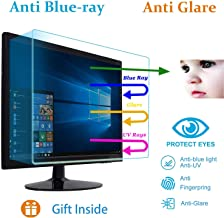 Eyes Protection Anti Blue Light Anti Glare Monitor Screen Protector Design for Diagonal 27 Inch 16:9 Dell, HP, Acer, ViewSonic, ASUS, Aoc, Samsung, Sceptre, LG Widescreen Monitor (597mm x 336mm)