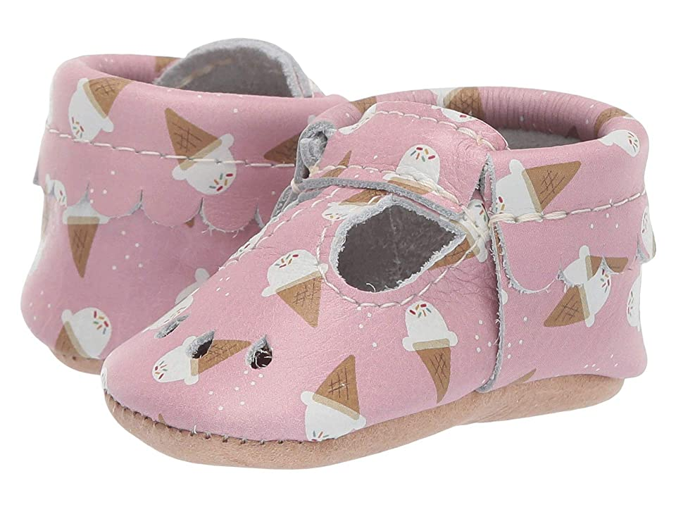 Freshly Picked Soft Sole Mary Jane Candy Shop (Infant/Toddler) (Ice Cream Cones) Girls Shoes