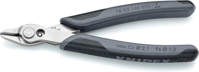 Knipex Tools 78 03 140 ESD Electronics Super Knips B07N71NY7C | Garantiere Qualität und Quantität