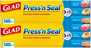 An Item of Glad Press'n Seal Food Plastic Wrap - 280 Square Feet - 2 Pack - Pack of 1