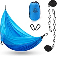 Deals on DEERFAMY Hammock, Easy Set Up Hold Up to 440lbs