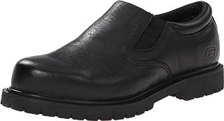 حذاء كوتونوود جودارد توين جور رجالي مقاوم الانزلاق بدون كعب أو أربطة مناسب للعمل من سكيتشرز