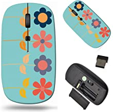 Wireless Computer Mouse 2.4G with USB Receiver, Laptop Mouse Cordless Portable and Silent Click, 1000 DPI for Office and H...
