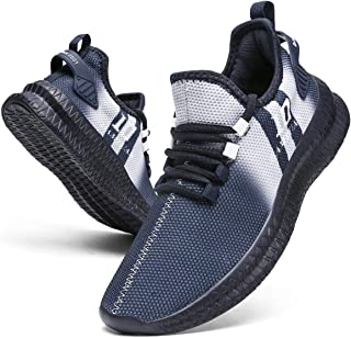 Men's Running Shoes Fashion Sneakers Tennis Shoes Walking Casual Athletic Workout Gym Sport Training Lightweight Breathable Comfortable Shoes