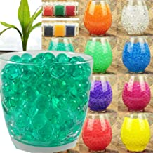 10g ~ 1kg Crystal Soil Water Beads Jelly Ball for Vase Filler Plants Kids Toy Home Wedding Decoration (10g, Turquoise)