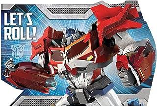 Transformers Postcard Invitations, Party Favor