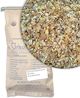Great River Organic Milling, Hot Cereal, Multi-Grain Cereal, Organic, 25-Pounds (Pack of 1)