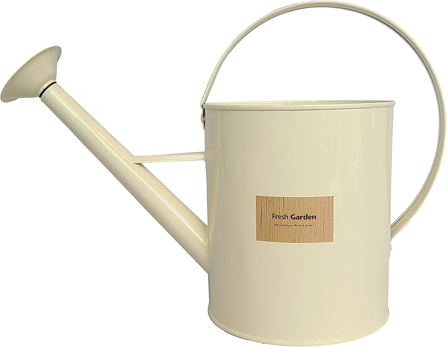 BFA Metal Watering Can Inexpensive with Removable Shower ga Beauty products 3.5L Head 0.92