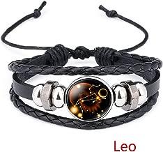 Friendshiy Explosion HOT 12 Constellation 12 Constellation TIME Gem Bracelet Sale