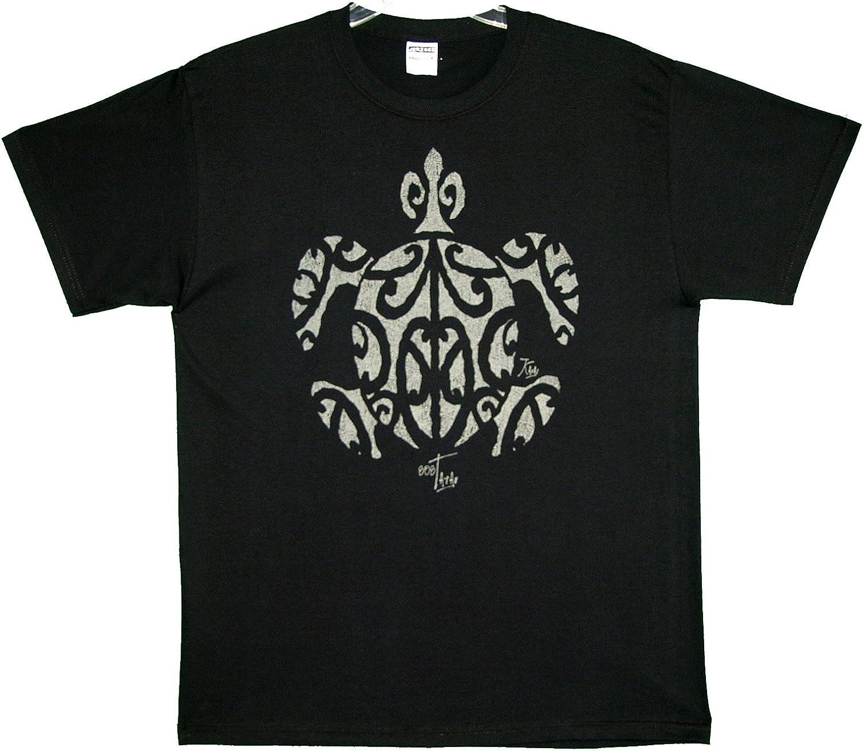 RJC Hawaii Imprint Tatau (Tattoo) Honu Pre-Shrunk Cotton T-Shirt