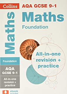 AQA GCSE 9-1 Maths Foundation All-in-One Complete Revision and Practice: Ideal for Home Learning, 2021 Assessments and 202...