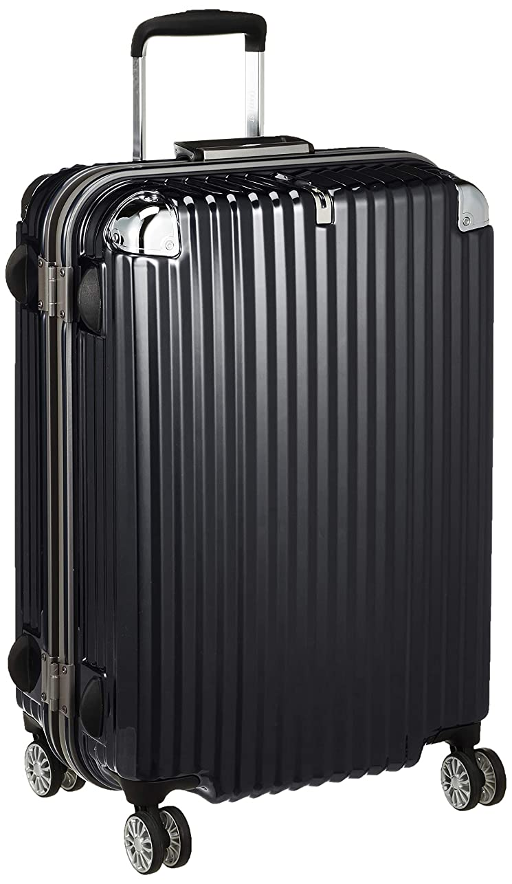ストレージボトルネックストレージ[トラベリスト] スーツケース フレーム ストリーク 無料預入 大容量 76-20230 75L 67 cm 4.6kg