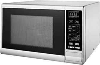 Black+Decker 30 Liter Combination Microwave Oven with Grill, Silver - MZ3000PG-B5, 2 Years Manufacturer Warranty