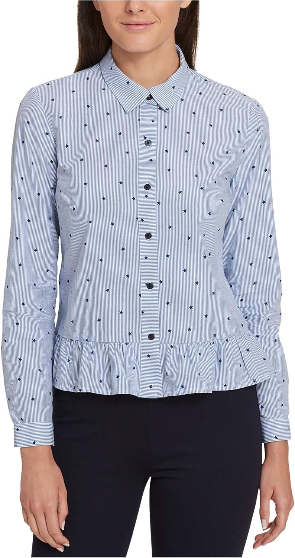 Tommy Hilfiger Womens Stars & Stripes Button Up Shirt