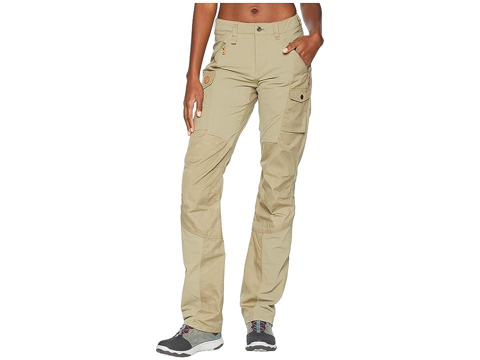 Fjallraven Nikka Curved Trousers (Savanna) Women
