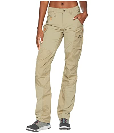 Fjallraven Nikka Curved Trousers (Savanna) Women