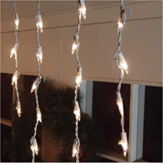 Brite Star Icicle Lights, Clear