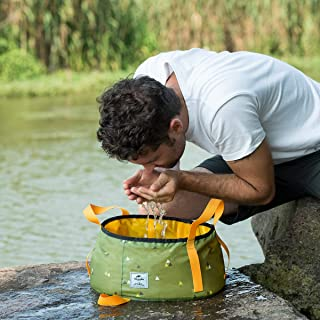 Naturehike Collapsible Water Bucket - Food-Grade Compact...