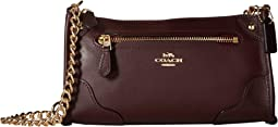 코치 미키 크로스바디백 옥스블러드 COACH Grain Leather Mickie Crossbody,Warm Oxblood