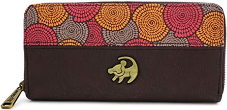 Loungefly x Lion King African Floral Print Zip-Around Wallet