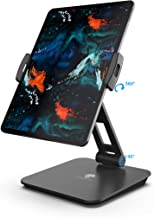 Stouchi Compatible iPad Stands and Holders, Kiosk POS Stand 360°Tablet Swivel Stand Tablet Holder Stand for New iPad Pro Any 4-14