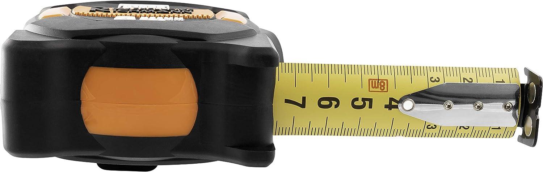 Auto-Stop classe 1 8 m 5 m 3 m//16 mm 3 m M/ètre ruban magn/étique en nylon