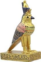 Ebros Egyptian Classical Deities Miniature Figurine Gods of Egypt Dollhouse Miniature Statue Legends of Ancient Egypt Educational Sculpture Collectible (Horus Falcon Bird)