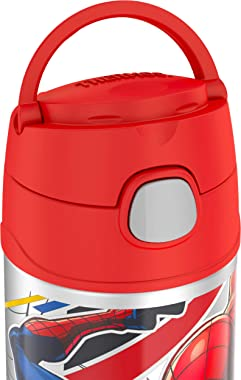 Thermos FUNtainer Vacuum Insulated Drink Bottle, Spiderman, F40120SP6AUS