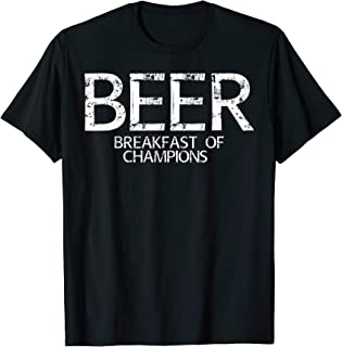 Beer Breakfast of Champions t-shirt vintage inspired Funny T-Shirt