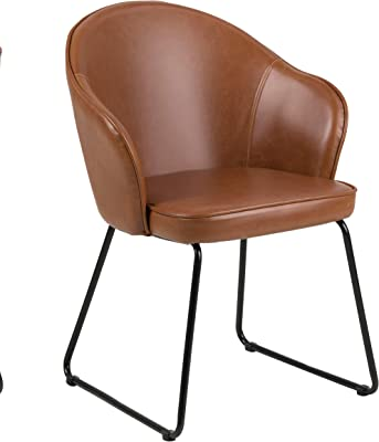 Amazon Brand - Movian Sils - Silla de comedor, 58,5 x 57 x 81,5 cm, marrón