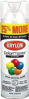 Krylon K03434007 ColorMaster Primer Bonus, Satin, Clear, 15 oz. Spray Paint, 25%