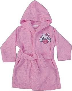 5dedac4212526 CTI 042729 Hello Kitty Wings Peignoir Coton Bouclette Rose 2 4 Ans