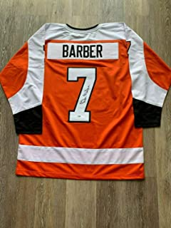 Bill Barber Autographed Signed Signed Jersey NHL Philadelphia Flyers PSA With COA