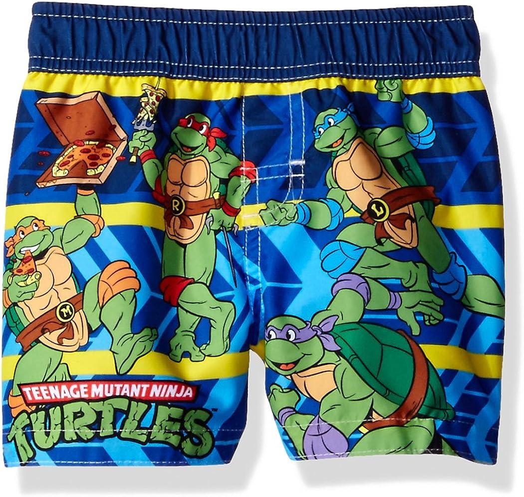 Nickelodeon Little Boys' Teenage Mutant Ninja Turtles Infant Swim Trunk: Clothing, Shoes & Jewelry