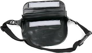 DURAGADGET Marsupio Nero per Panasonic Lumix DMC-ZS50 | ZS45 | TS6 | TS30 | FT6 | SZ10 | TZ70 | FT30 - Immergibile in Acqua