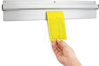 New Star Foodservice 26924 Aluminum Check Rack Check Minder Holder, 18-Inch