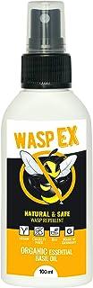 Anti Avispas Natural | WaspEx 100ml | Repelente Natural | 100% biodegradable | Con Aceite esencial de Albahaca | Para niños y adultos