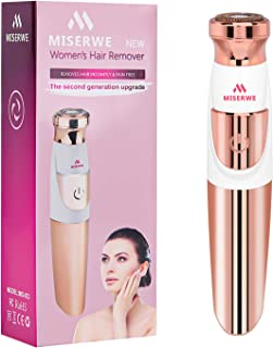 Women's Painless Hair Remover Facial Hair Removal Painless Hair Trimmer Shaver Waterproof for facial bikini area body hair