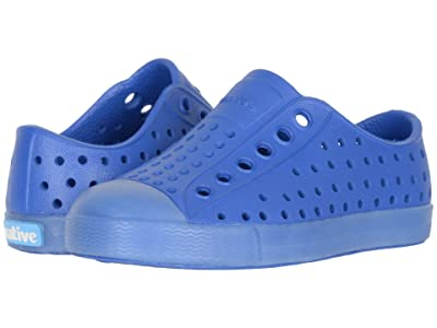 Native Kids Shoes Jefferson (Toddler/Little Kid) (Victoria Blue/Transparent) Boys Shoes