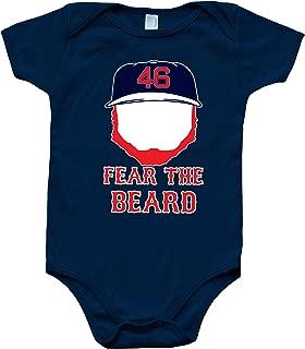 PROSPECT SHIRTS Navy Boston Kimbrel Fear The Beard Baby 1 Piece