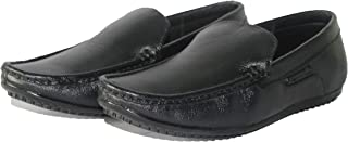 Coralhawk Handmade Genuine Black Casual Loafer Shoes/Driving Shoes with Export Quality for Men