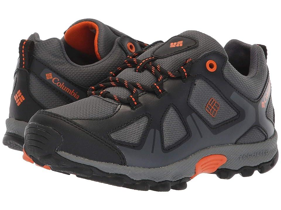 Columbia Kids PeakFreaktm Xcrsn Waterproof (Little Kid/Big Kid) (Graphite/Heatwave) Boys Shoes