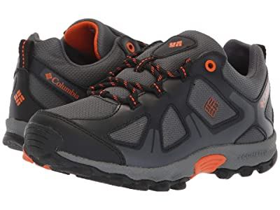 Columbia Kids PeakFreaktm Xcrsn Waterproof (Little Kid/Big Kid) (Graphite/Heatwave) Boys Shoes