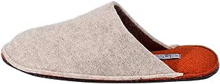 Le Clare Spot Bicolore - Pantofola Invernale Uomo in Panno di Lana