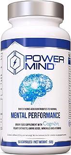 POWERMIND | Premium Brain Booster Nootropic with Magnesium,