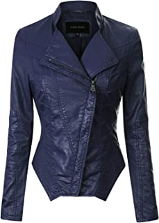 6a6efa573 Amazon.com  Blues - Leather   Faux Leather   Coats