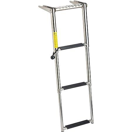 Garelick Eez In 19676 01 Over Platform Telescoping Ladder 3 Step Sports Outdoors