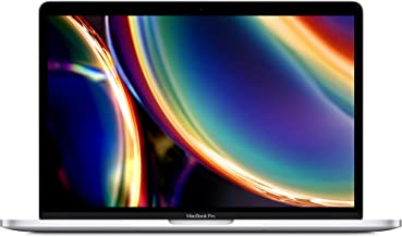 New Apple MacBook Pro (13-inch, 16GB RAM, 512GB SSD Storage, Magic Keyboard) - Silver (Renewed)