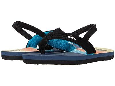 Quiksilver Kids Molokai Layback (Toddler) (Black/Blue/Blue 1) Boys Shoes