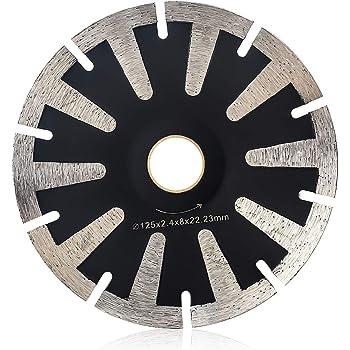 5 Inch Diamond Concave Cutting Blade For Granite Amazon Com